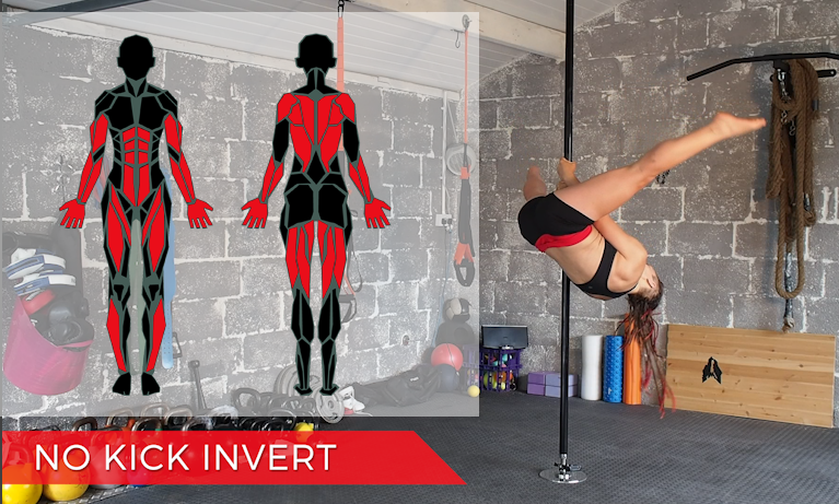 The secret to a no-kick pole invert (and 3 exercises to get you there)