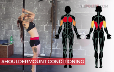 Pole shouldermount exercises
