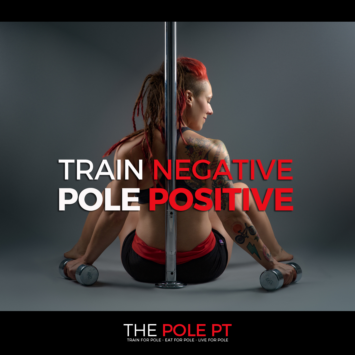 Personal trainer pole fitness