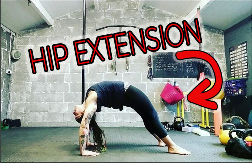 Glute training for pole dance