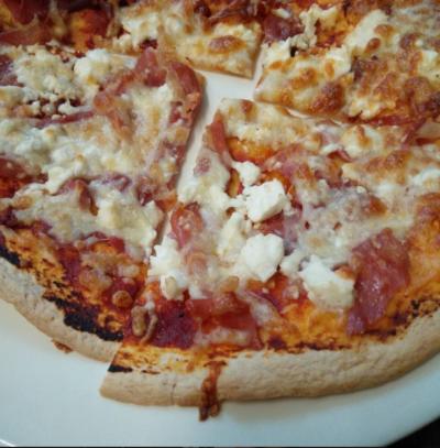 Nutritious pizza