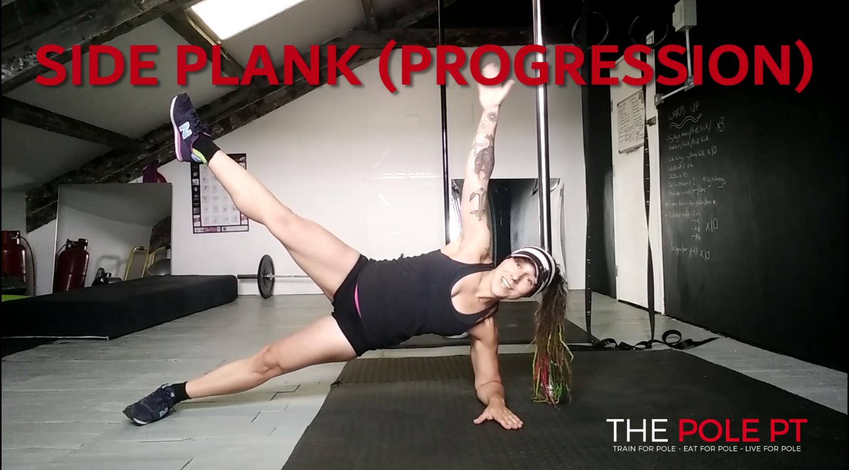 core training pole fitness