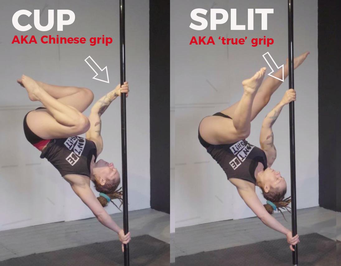 True grip or cup grip