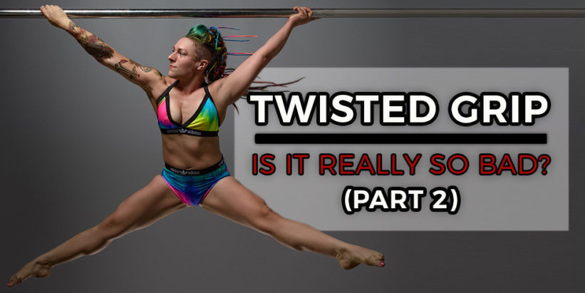 Strength exercises for twisted grip handspring