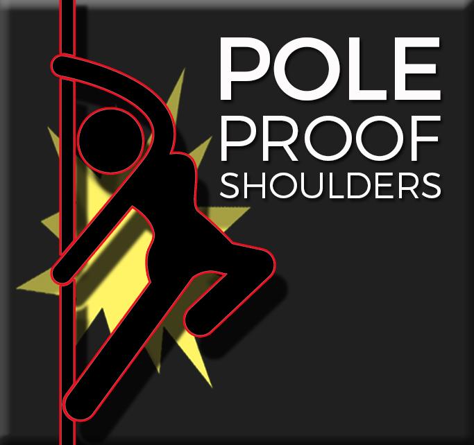 Pole dancer shoulder strength