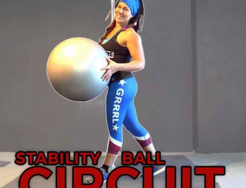 Stability Ball Circuit for Pole Dancers