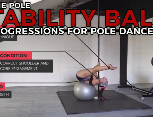 Stability Ball Exercises on the Pole