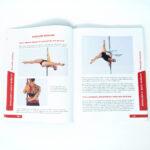 pole dance tabletop split