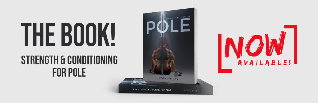 Strength and conditioning book pole dance