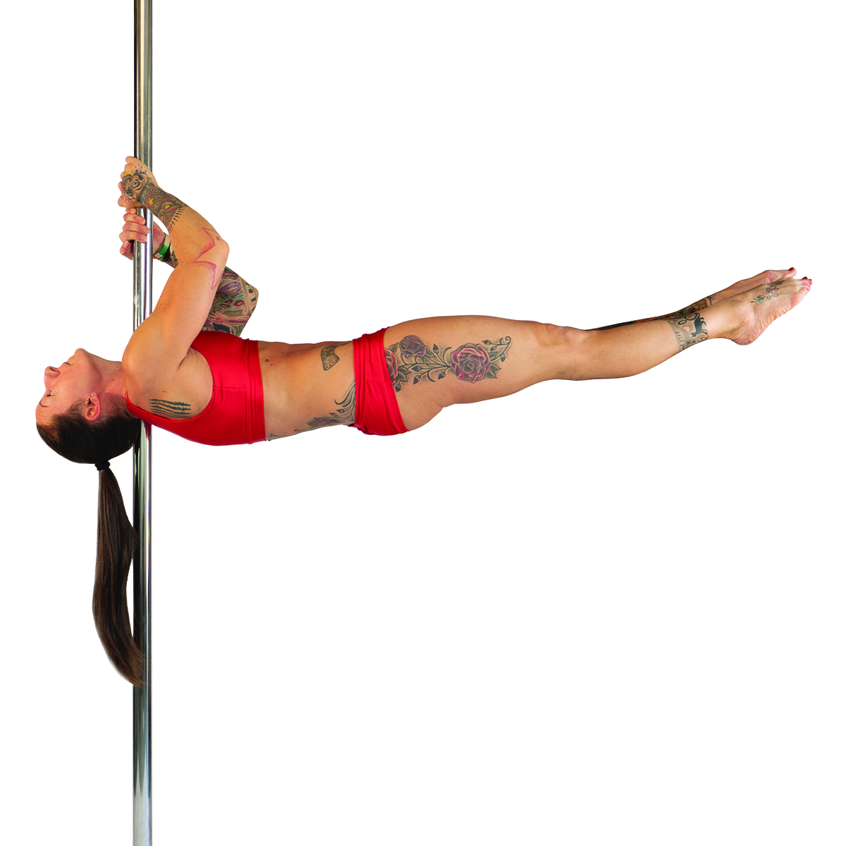 Shoulder mount flag
