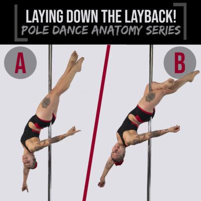 Pole dance anatomy
