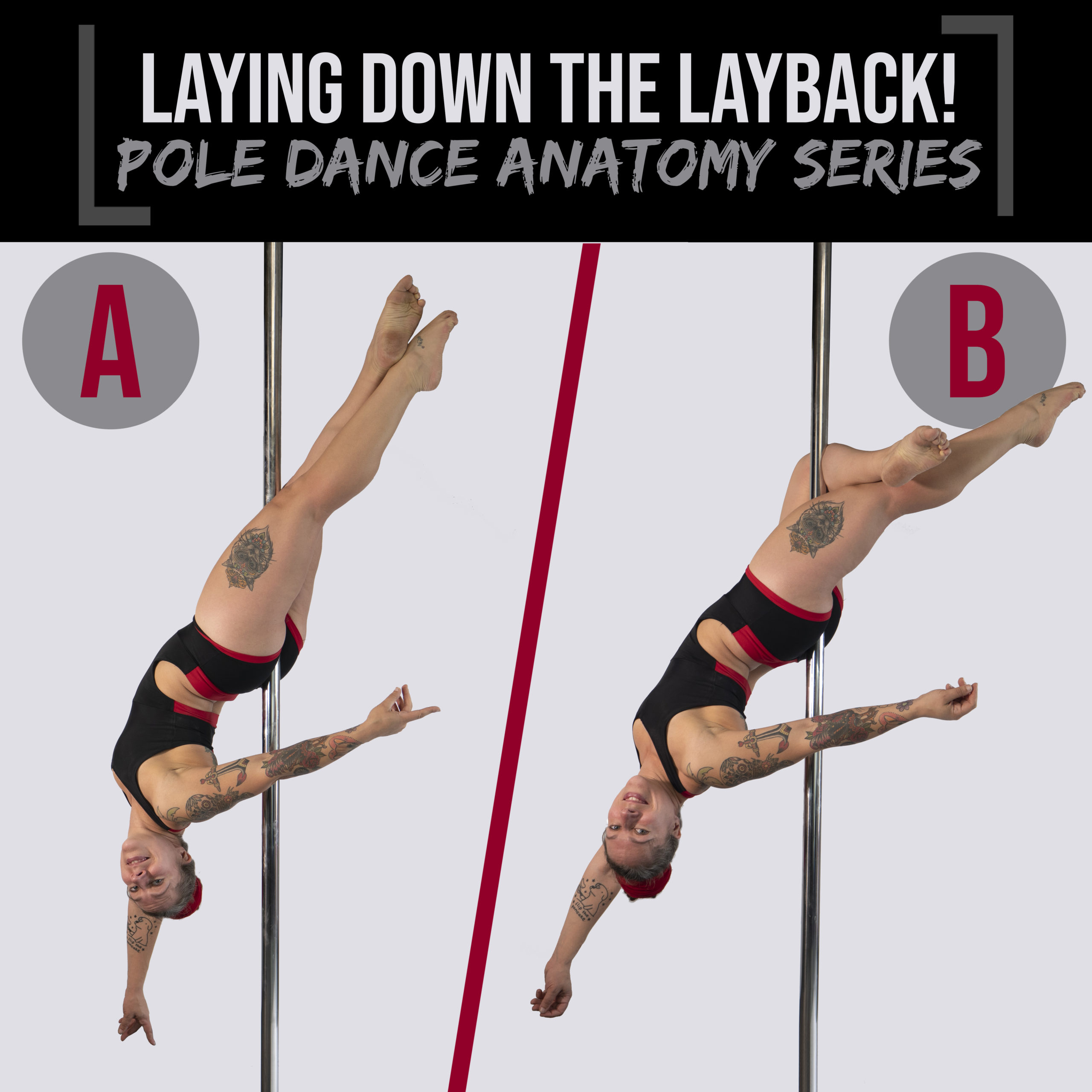 Laying down the layback