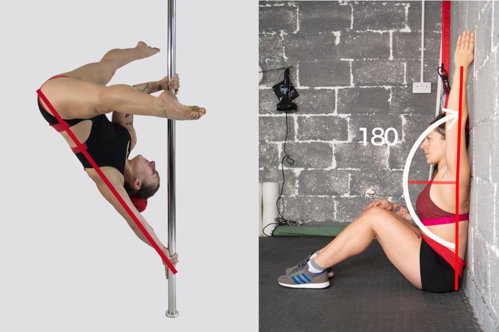 Pole dance anatomy series