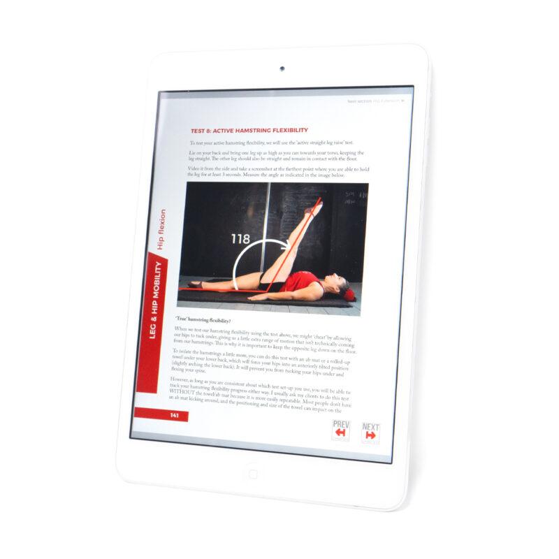 Active hamstring flexibility