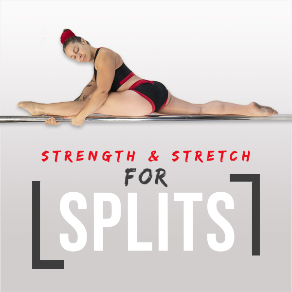 Online training for splits pole dance