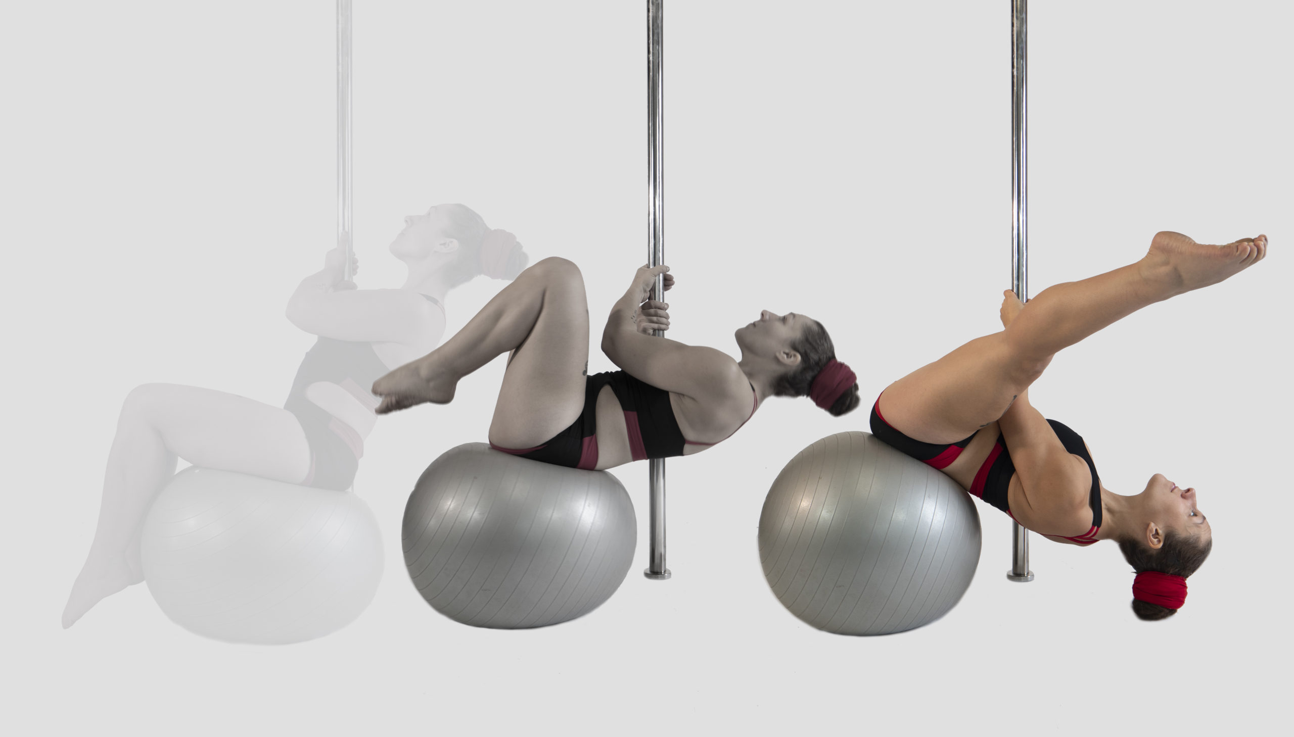How to do the stability ball chopper
