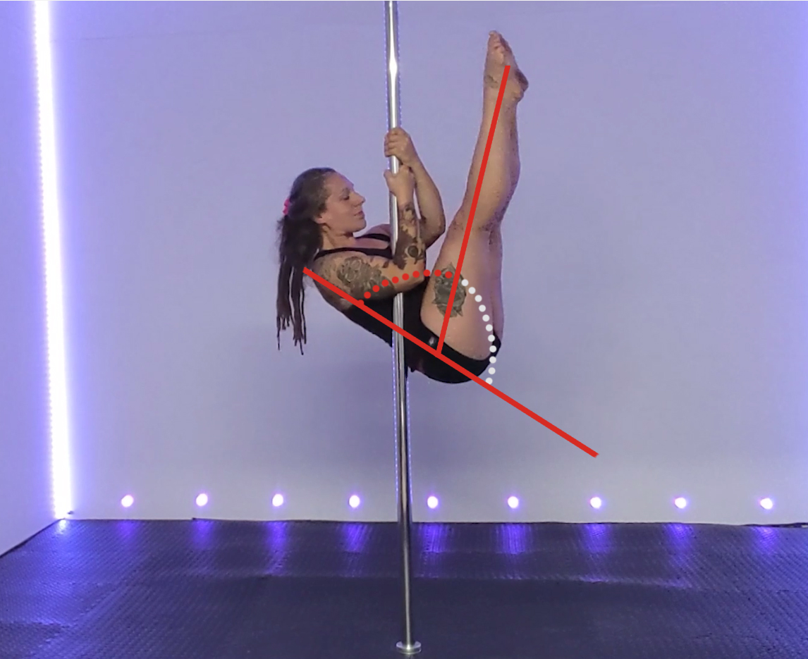 Straight leg invert… 3 reasons it's harrrd + how to master it!