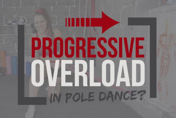 Progressive overload pole fitness