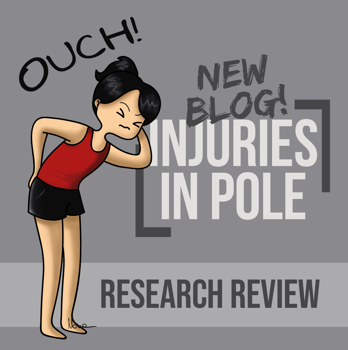 Mo skills, mo problems? Pole dance injury research [round up]