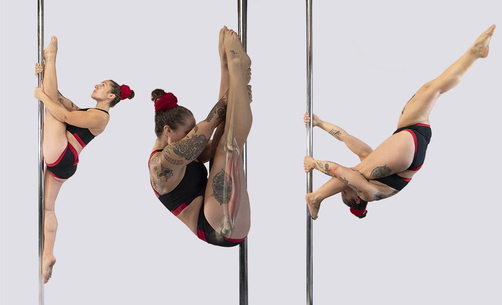 Pole dance hamstring injuries