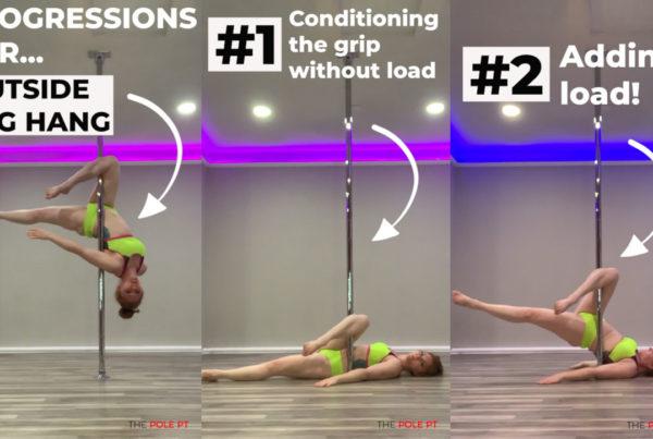 Leg hang progressions